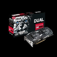 Asus Radeon RX 580 8GB DDR5 - Dual Fan OC