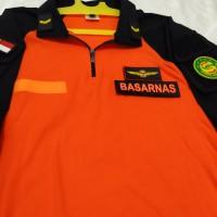 combat shirt basarnas ( team sar ) / baju kaos kemeja tactical basarna
