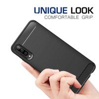 Samsung Galaxy A30s / A50 / A50s Carbon Fiber Slim Fit Soft Case