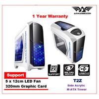 Casing PC Power Logic Armageddon Zeptron T2Z - White