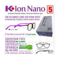 K-Ion Nano Premium 5 Purple Kacamata Terapi Kesehatan