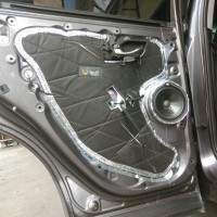 Honda CRV Turbo 2018 Prestige VTech Peredam Akuistik suara Audio pintu