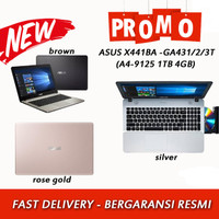 Asus X441BA-GA431T/GA432T/GA433T/GA434T A4-9125/4GB/1TB/DVD/14/MURAH