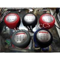 Gear Shift Knob / Knop Perseneling Mobil Manual Tuas Persneling MOMO