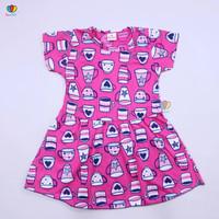 Dress Prilly Uk 3-4 Tahun / Dres Anak Perempuan Murah Baju Main Harian