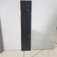 Plint Keramik Hitam Polos 10x50 cm