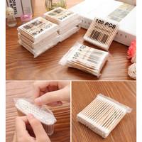 100pcs Bamboo Cotton Bud / Cotton Swab Bambu CT-100