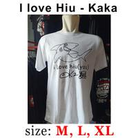 i love hiu - Original Made In Slankers - Tampiasih - Baju Slank - Kaos