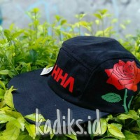 Topi 5 panel Distro AHHA