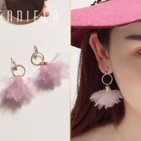 Anting Korea Bohemian Flower Earrings Earrings JUL161