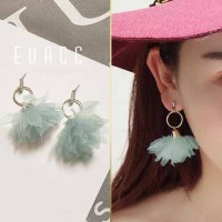 Anting Korea Bohemian Flower Earrings Earrings JUL162
