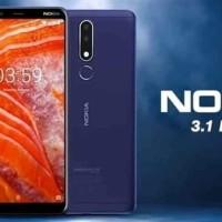 Nokia 3.1 Plus 3/32 Ram 3Gb Rom 32Gb Garansi resmi