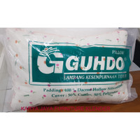 Dacron Pillow Gudho / Bantal Bintik Guhdo