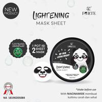 SYB Animal Lightening Mask Sheet Panda / Sheet Mask BPOM