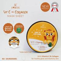 SYB Animal Vit C Collagen Mask Sheet Tiger / Sheet Mask BPOM