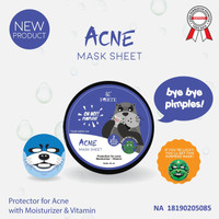 SYB Animal Acne Mask Sheet Otter / Sheet Mask BPOM