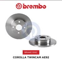 Brake disc Rotor Depan Corolla Twincam AE92 Brembo 08586410