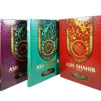 UKURAN BESAR A4 Al Quran ASH SHAHIB Terjemah dan Waqaf Ibtida A4