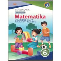 Buku Siswa Matematika Untuk SD/MI Kelas 6 Kurikulum 2013 Revisi