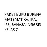 Paket Lengkap Buku Bupena SMP Kelas 7 Matematika IPA IPS BahasaInggris