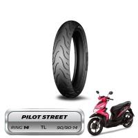 Ban Belakang Standar Beat Michelin Pilot Street 90/90-14 Tubeless
