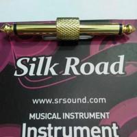 Murah Silkroad Pp01G - Jumper Efek Gitar (Straight Gold) Berkualitas