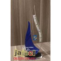 Plakat Trophy Piala Standee AKRILIK 5mm CUSTOM 10x15 MURAH