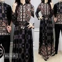 Promo Batik Premium Bahan Halus baju pasanga. sarimbit gamis couple