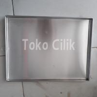 loyang/alumunium/30x40x2cm/alat/cetakan/kue kering/bolu gulung/lapis