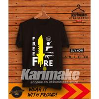Kaos Baju Game Free Fire Weapon and Item Kaos Game - Karimake