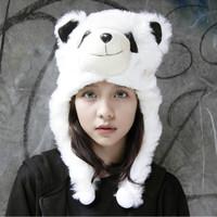 Topi Animal Anak/Remaja Dewasa/Topi Boneka Binatang PANDA Lucu