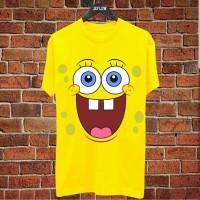Kaos Baju Distro Grosir dan Ecer Keren, Motif Spongebob