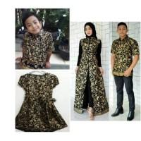 baju batik keluarga sarimbit family couple seragam pesta ayah ibu anak