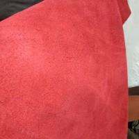 Bahan Kulit Sapi suede Grade A ukuran 20cm x 30cm