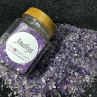 Bahan Orgonite - Batu Kristal Amethyst / Kecubung / Ametis