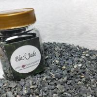 Bahan Orgonite - Rough Batu Kristal Black Jade