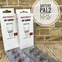 Artery Pal2 Coil HP Cores 0.6 Mesh for Freebase & 1.0 Regular for Salt