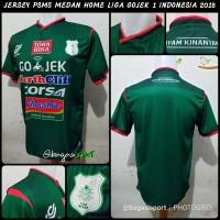 Jual Jersey-Baju Bola PSMS Medan Hijau Home-Kandang Liga GOJEK 1