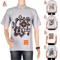baju koko batik etnik    kemeja cowok