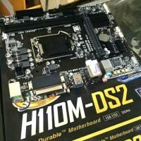 motherboard gigabyte GA-H110M-DS2 lga 1151 ddr4 garansi resmi 3 tahun