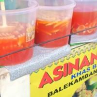 asinan kuah buah nanas mangga salak asli betawi terima pesanan
