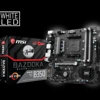 motherboard mainboard MSI B350M Bazooka AM4 AMD Promontory B350 DDR4