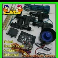 alarm mobil dan central lock remot mobil lengkap