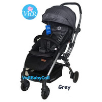 Kereta Dorong Bayi Stroller BabyElle 939 Avio RS Grey