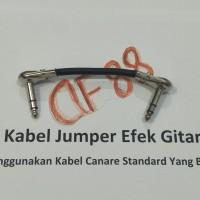 Kabel jumper efek gitar 10 cm stereo