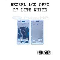 BEZZEL/HOUSING LCD OPPO R7 LITE WHITE