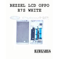 BEZZEL/HOUSING LCD OPPO R7S WHITE
