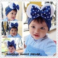 Bandana Minnie mouse/anak/bayi/baby/balita/kids/bando