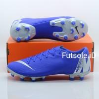 Sepatu bola Nike Mercurial Vapor XII Academy blue FG Original