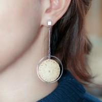 Anting Korea Ring Knit Woolearrings DES399